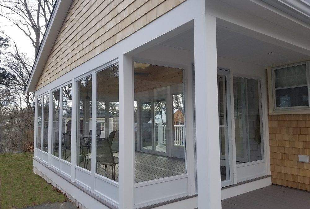 3 Season Sunroom with AZEK Porch, Fairhaven, MA