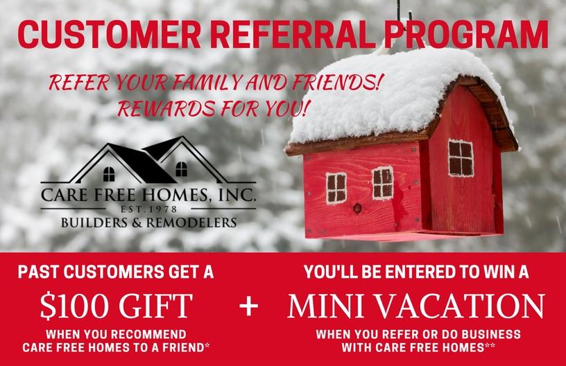 Customer Referral and Rewards Program Winter 2019
