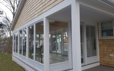 3 Season Sunroom with AZEK Porch, Fairhaven, MA
