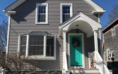 GAF Roofing System, Mastic Vinyl Siding & Portico in Fairhaven, MA