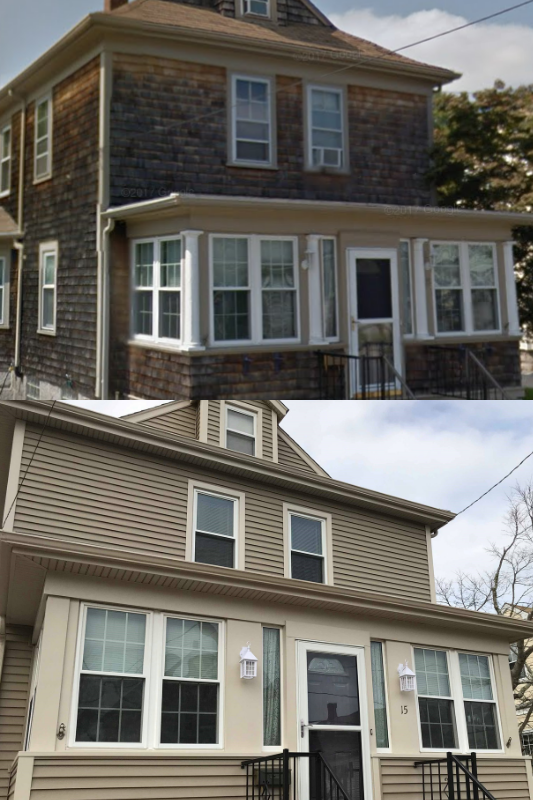 Mastic Carvedwood Vinyl Siding New Bedford Ma