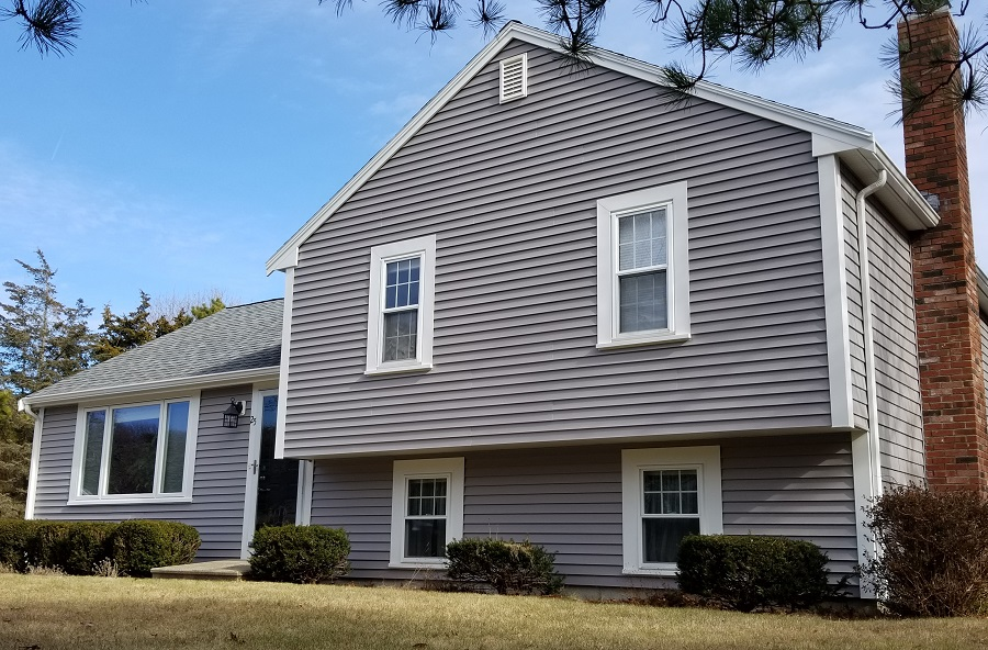 Mastic Vinyl Siding & Harvey Windows, Falmouth, MA