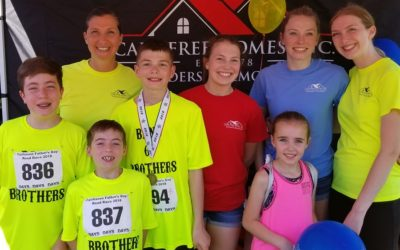 We're West Island 5K & Fairhaven Father's Day Road Race Sponsors!