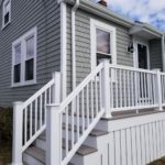 Cedar Discovery Vinyl Siding, AZEK Decking, & Harvey Windows, Fairhaven, MA