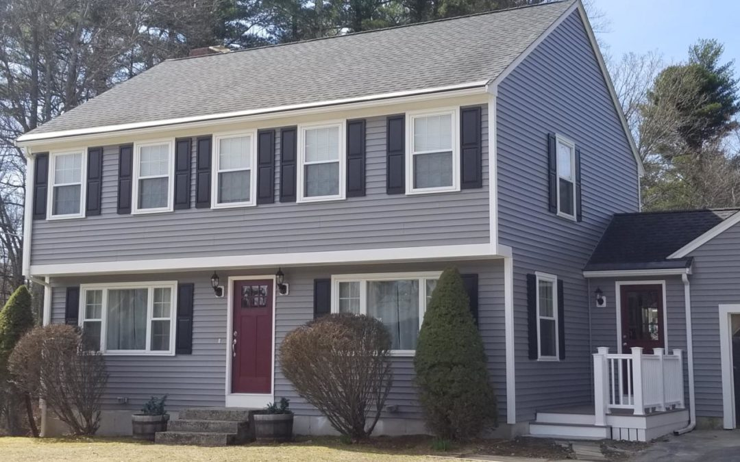 Mastic Vinyl Siding, AZEK Decking, and Therma Tru Door, Taunton, MA