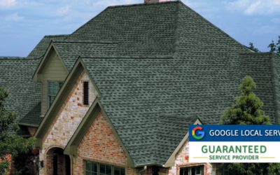 We're a Google Guaranteed Roofing Contractor!
