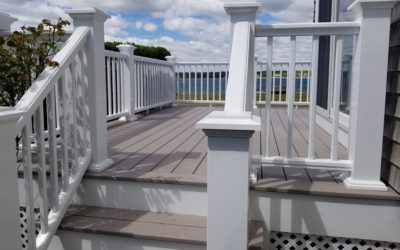 Deck Design for Waterfront Home, New Bedford, MA