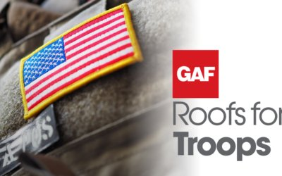 GAF $250 Roof for Troops Rebate Program