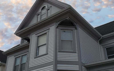 Vinyl Siding on New Bedford, MA Historic Home