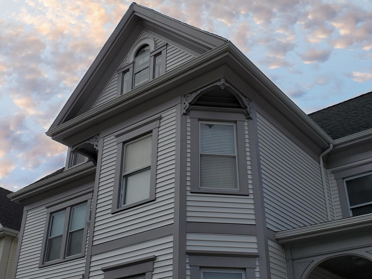 Vinyl Siding On New Bedford Ma Historic Home Contractor
