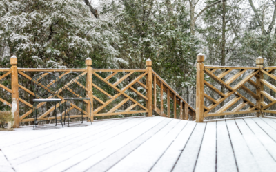 How to Care for your Deck this Winter!