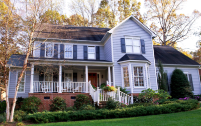 New England Vinyl Siding: Blue Tones