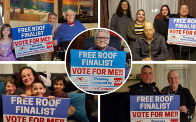 PRESS RELEASE: Cape Cod, SouthCoast MA Families Announced as Finalists in Roof Giveaway