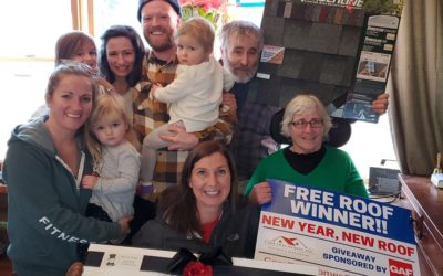 PRESS RELEASE: Cape Cod Family WINS New Year, New Roof Giveaway