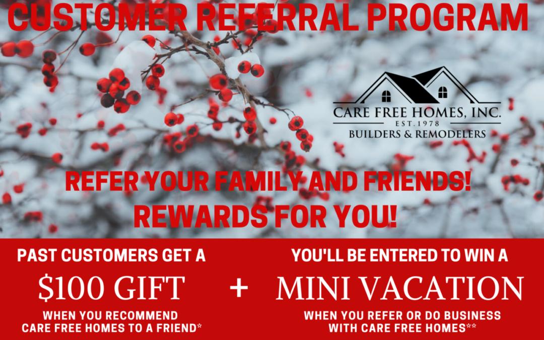 Winter Referral & Rewards Program 2020