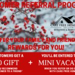Referral and Rewards Program Winter 2020