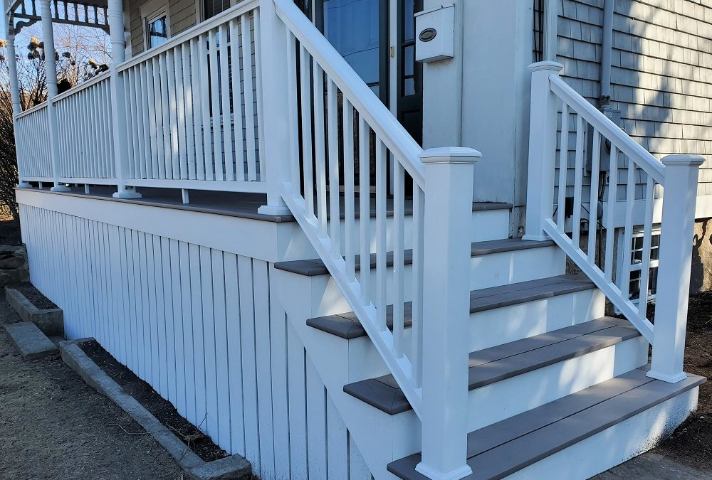 TimberTech AZEK Porch, Dartmouth, MA