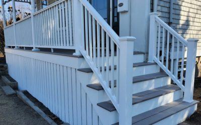TimberTech AZEK Porch, Dartmouth, MA