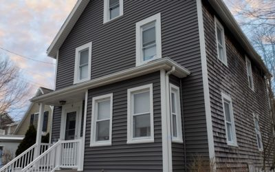 Vinyl Siding & AZEK Porch, Fairhaven, MA