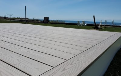 AZEK Deck on Beach Cottage, Fairhaven, MA