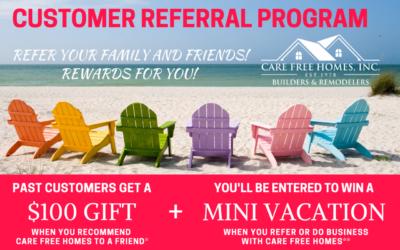 Customer Referral and Rewards Program Summer 2020