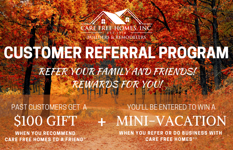Fall Referral and Rewards Program 2020