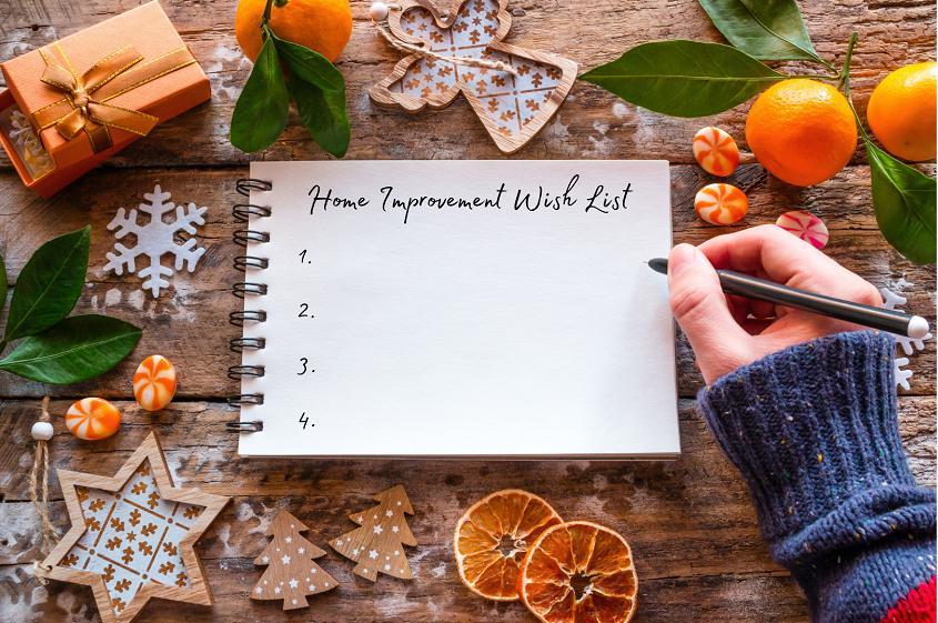 Home Improvement Wish List