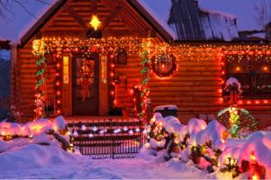 Porch Christmas Lights