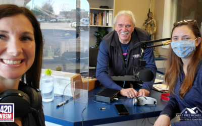 New Year, New Roof on WBSM's Morning Drive with Phil Paleologos