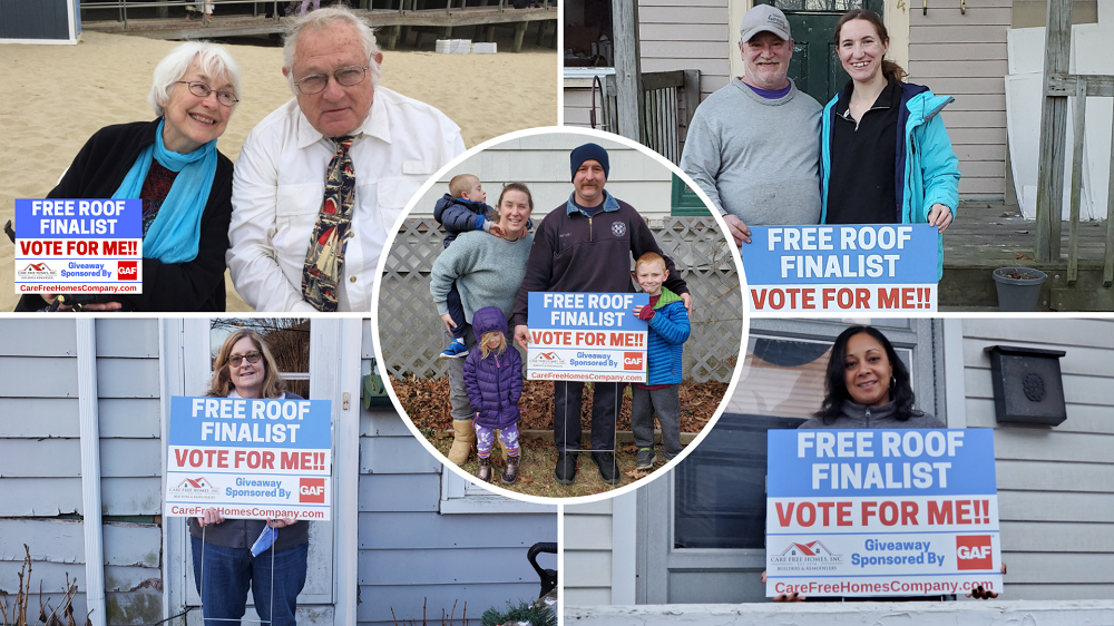 PRESS RELEASE: Rhode Island, Southeastern MA Homeowners Among Finalists in Roof Giveaway