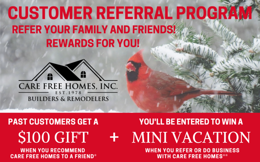 Winter Referral and Rewards Program 2021