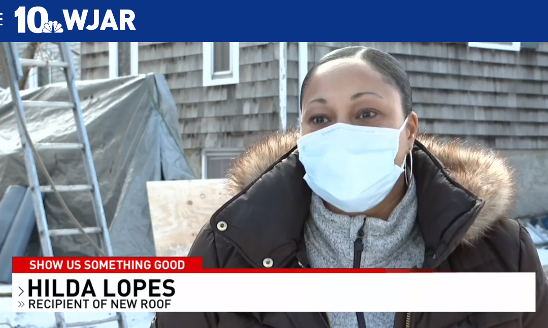 """NBC 10's """"Show Us Something Good"""" Segment Featured Our Roof Giveaway!"""