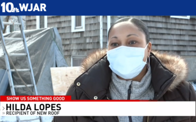 "NBC 10's ""Show Us Something Good"" Segment Featured Our Roof Giveaway!"