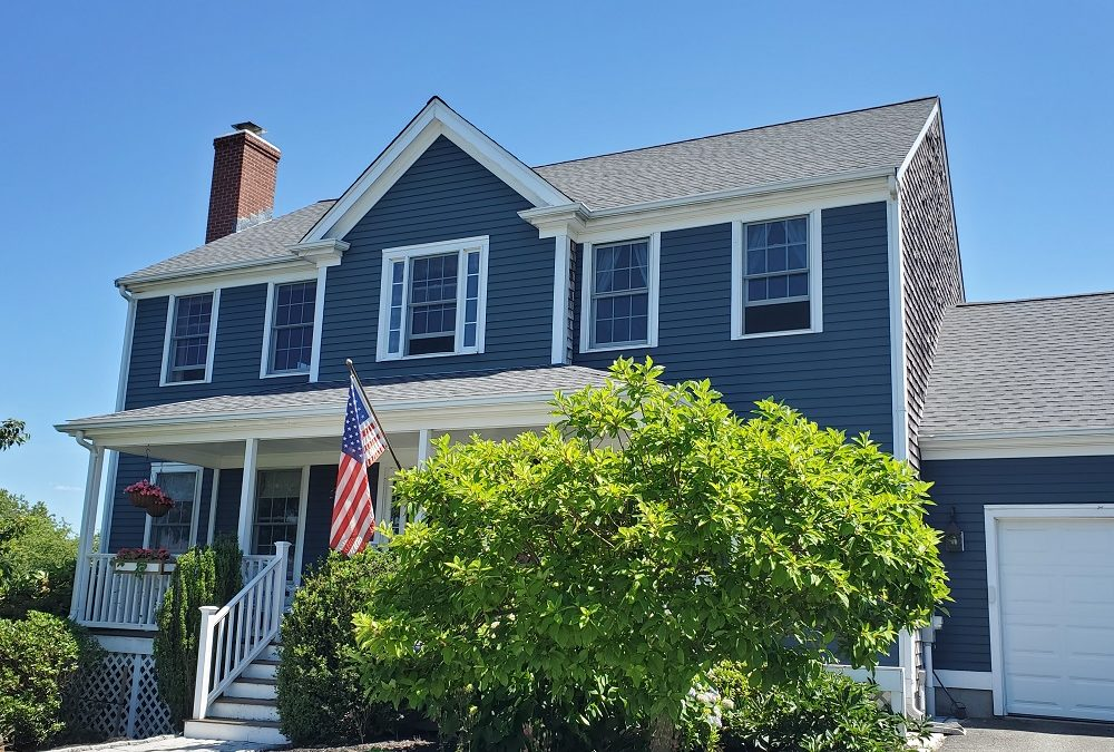 GAF Roof in Pewter Gray, Portsmouth, RI