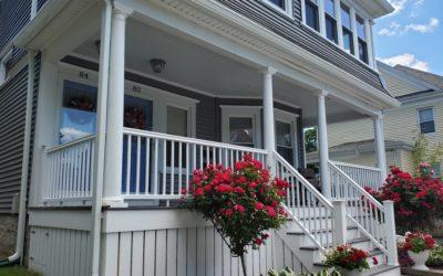 TimberTech AZEK Porch, New Bedford, MA
