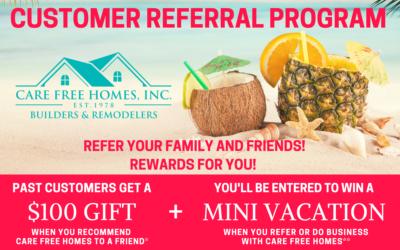 Customer Referral & Rewards Program Summer 2021